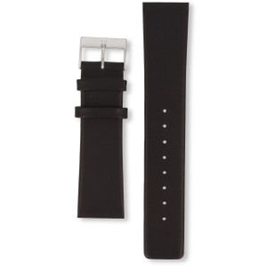 Skagen Watch Replacement Strap For 355XLSLB Black Leather