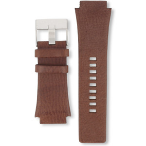 Diesel Replacement Watch Strap Brown Genuine Leather For DZ1132