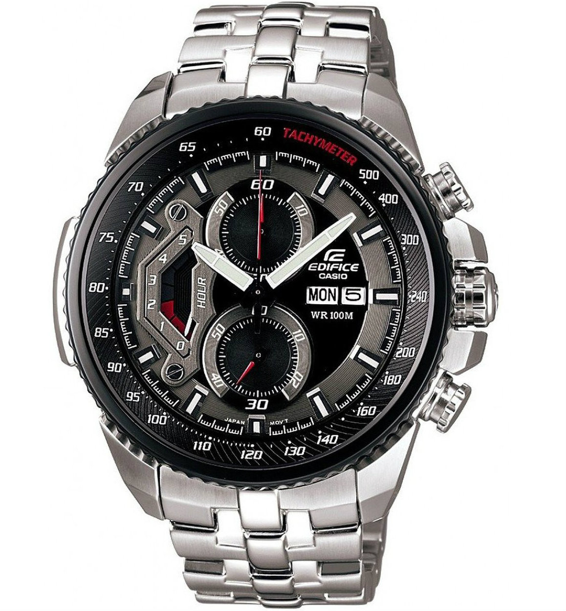 Watch Review - Casio Edifice Mens Black Dial Chronograph Watch EF-558D-1AVEF