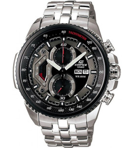 Casio Edifice Mens Black Dial Chronograph Watch EF-558D-1AVEF