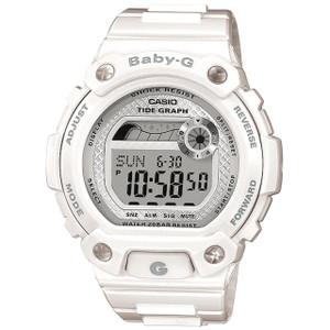 White Baby-G Ladies Chronograph Watch BLX-100-7ER