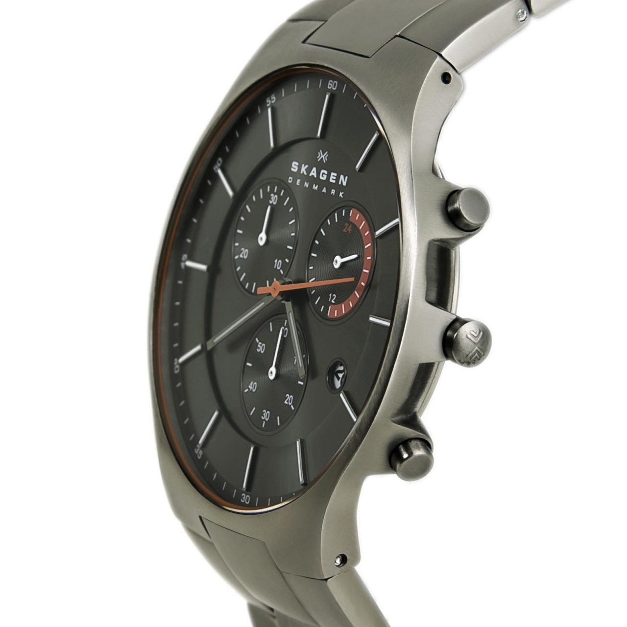 Watch Review - Skagen SKW6076 Aktiv Titanium Chronograph Steel Link Balder Watch