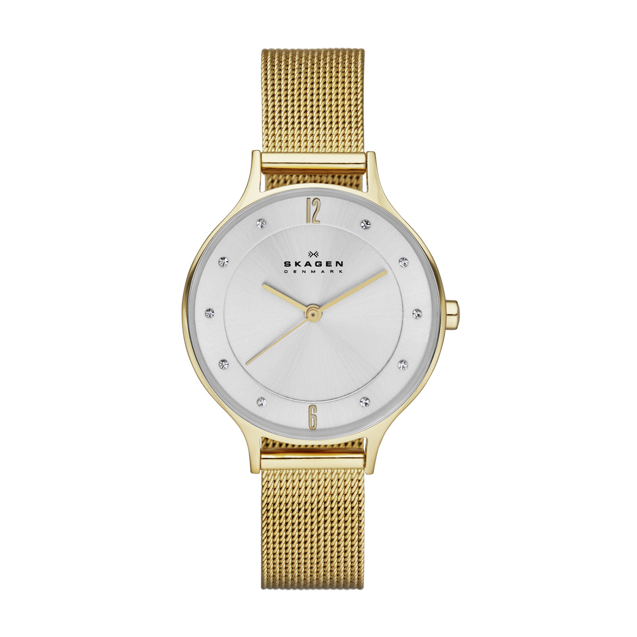 Watch Review - Skagen SKW2150 Anita Ladies Gold Mesh Strap Watch