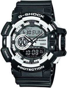 Casio G-Shock Mens Digital Dial Alarm Chronograph Watch GA-400-1AER