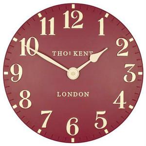 Thomas Kent Arabic Red Wall Clock (30 cm)
