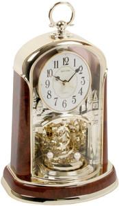 Rhythm Mantel Clock Two Tone Gilt Wood Pendulum 4SG713WS23