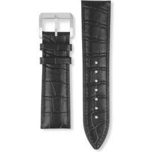 Hugo Boss Replacement Watch Strap Black Genuine Leather 22mm For HB.22.1.14.2008