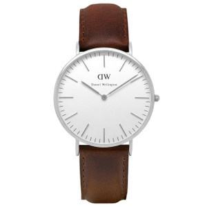 Daniel Wellington Men's Bristol 40mm Silver Watch 0209DW