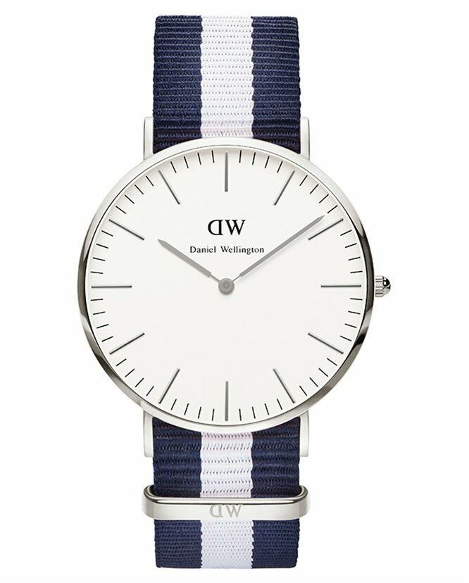 Product Review - Daniel Wellington Mens Glasgow 36 mm Silver Watch 0602DW