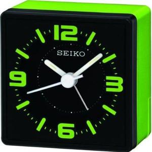 Seiko Green Analogue Bedside Alarm Clock