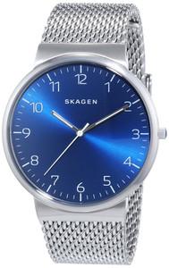 Skagen Men's Ancher Refined ChromeMesh Strap Watch SKW6164