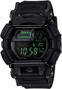 Casio G-Shock Black Digital Dial Resin Strap Chronograph Watch GD-400MB-1ER
