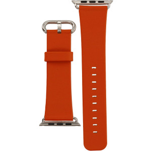 Apple Watch Replacement Strap Orange Leather 38 mm
