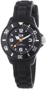 Ladies Ice Watch Black Watch Mini Size SI.BK.M.S.13