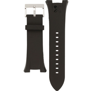 Armani Exchange Replacement Watch Strap Black Rubber For AX1042 And AX1090 And AX107