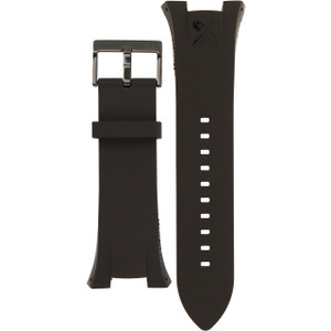 Armani Exchange Replacement Watch Strap For AX1050 Black Genuine Leather