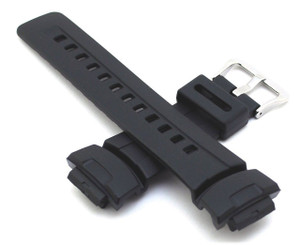 Genuine Replacement G-Shock Black Strap 10001449 For G-100 And G-101 And G-200 And G-2110 And G-2300 Series
