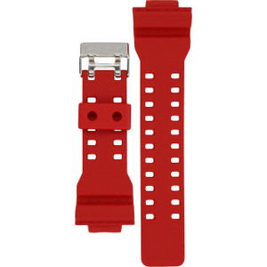 G-Shock Replacement Watch Strap Red Rubber 10395226 For GA-1 Series