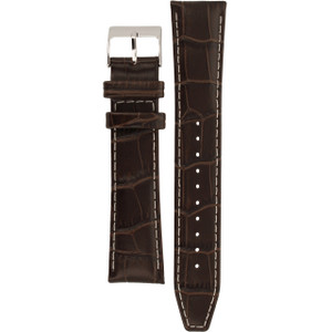 Seiko Brown Calf Leather Replacement Watch Strap 21 mm For SNAF09P1