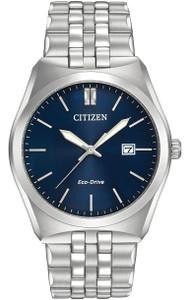 Citizen Gents Deep Blue Dial Corso Bracelet Watch BM7330-59L