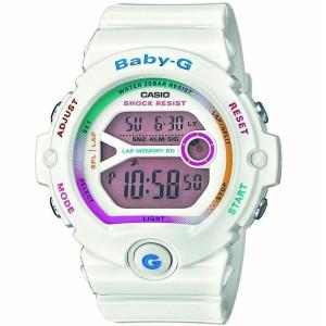 White Baby-G Coloured Digital Dial Running Chronograph Watch BG-6903-7CER