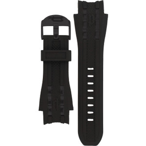 Police Replacement Watch Strap Black Rubber For 12087JSB/02