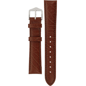 Hirsch Highland Replacement Watch Strap Brown Leather 18mm