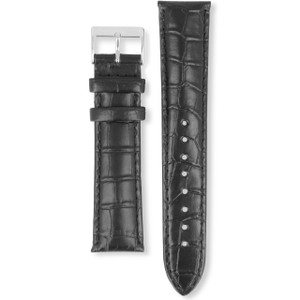 Hugo Boss Replacement Watch Strap Black Genuine Leather 22mm HB.118.1.14.2348