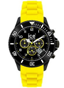 Ice-Watch Ice Chrono Black/Yellow Big Size