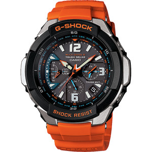 G-Shock Gravity Defier Orange Radio Controlled Watch GW-3000M-4AER