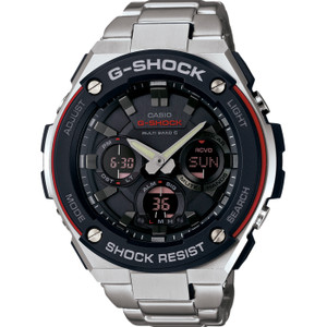 G-Shock G-Steel Radio Controlled Solar Powered Watch GST-W100D-1A4ER
