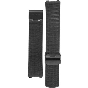 Skagen Replacement Watch Strap Black Mesh For T233XLTMN And 233XL Series