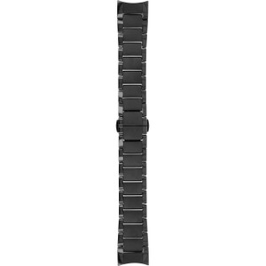Armani Replacement Black Ceramic Watch Strap 22mm For AR1452