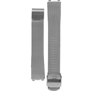 Skagen Replacement Silver Mesh Watch Strap 16.5mm For 233SGS And 233SSS And 233SSSC