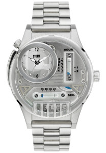 STORM Hydroxis Men's Silver Watch