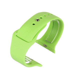 Apple Watch Replacement Strap Green Silicone 42mm