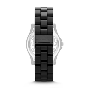 Marc Jacobs Watch Replacement Strap Black Stainless Steel For MBM4572 With Free Connecting Pins