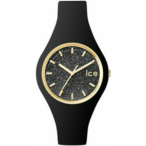 Ice Watch Glitter Dial Black Slim Watch Small Size ICE.GT.BBK.S.S.15