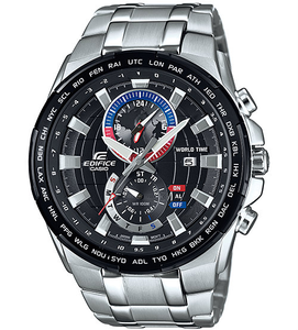 Casio Edifice Mens World Time Chronograph Watch EFR-550D-1AVUEF