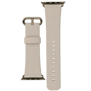 Apple Watch Replacement Strap White Leather 38 mm