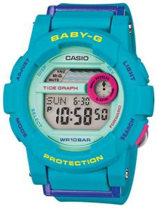 Casio Baby-G Blue Tide Graph Display Ladies Watch BGD-180FB-2ER