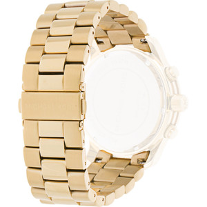Michael Kors Replacement Watch Strap Gold Plated MK8077