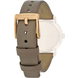 Marc Jacobs Replacement Watch Strap Grey Leather 14m For MBM1318