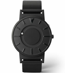 Eone Bradley Braille Tactile Watch For Blind Black Mesh