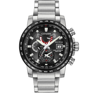 Citizen Radio Controlled World Time Eco-Drive Mens Watch AT9071-58E