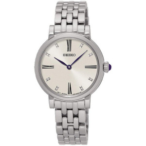 Seiko Ladies White Dial Bracelet Watch SFQ817P1