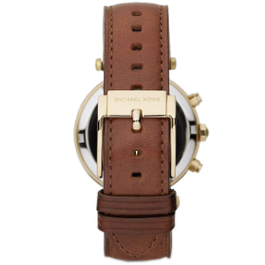 Michael Kors Replacement Watch Strap Genuine Brown Leather MK2249 With Free Pins