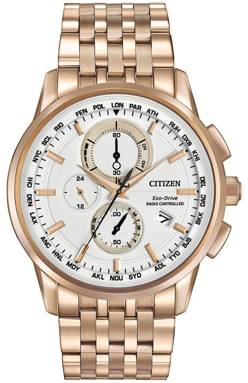 Citizen AT8113 55A Mens Eco Drive Chronograph A T Watch