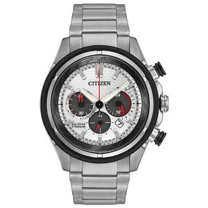 Citizen Mens Titanium Eco Drive Watch CA4240-58A