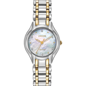 Citizen Ladies Diamond Eco Drive Watch EM0284-51D
